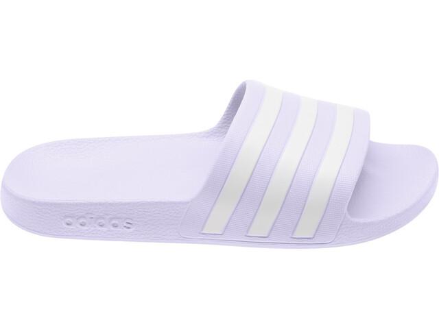 adidas Adilette Aqua Sandalias Mujer, purple tint/footwear white/purple tint
